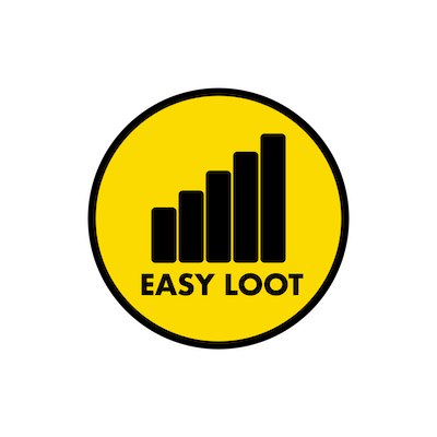The smaller official company logo of Easy Loot LLC
